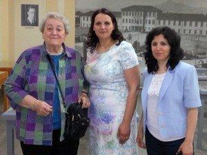 Principal Albana Bushati, and Vice-Principal Edlira Tafili