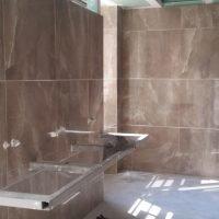 Ladies bathroom & tiles
