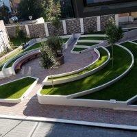 Building's garden