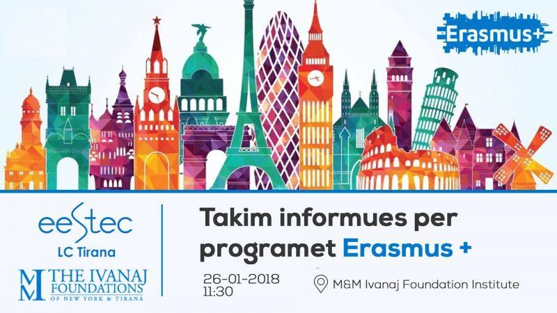 Takim informues per programet Erasmus+
