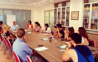 Meeting with our volunteers (2)