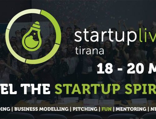 Speech by Drita Ivanaj  Re: StartUp Live Tirana #8  June 7 – 9, 2019