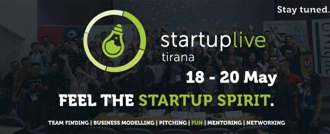 Startup Live - Tirana, 2018