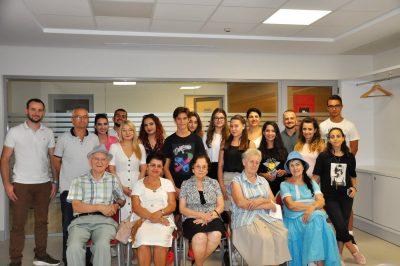 Senior Technology Club meeting