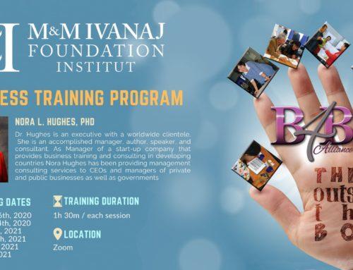 Programi i trajnimit për bizneset i Fondacioneve Ivanaj – Think Outside the Box