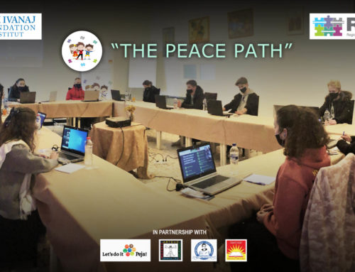 """The Peace Path Project"" has crisscrossed borders!"