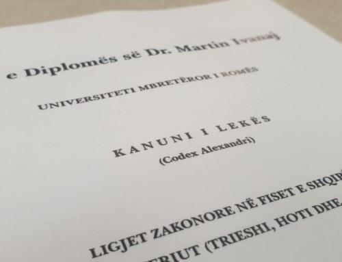The Code of Lekë Dukagjini